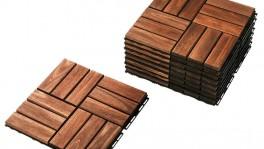 Аренда деревянного покрытия из массива RUNNEN BRAUN